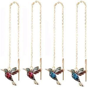 WE'RE BACK! Hummingbird Threader Drop Earrings